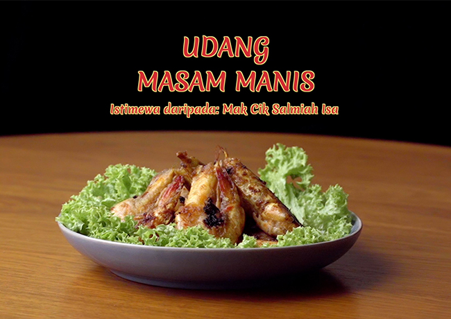 Udang Masam Manis (Sweet and Sour Shrimp)
